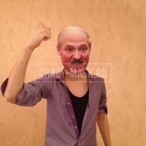 Маска «Лукашенко кричит»