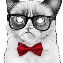 Маска «Cердитый кот»