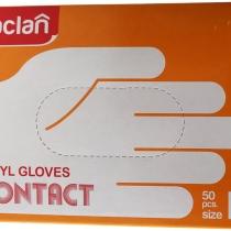 Перчатки виниловые, размер L (50 шт.)