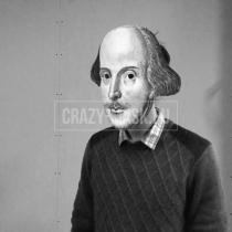 Маска «Уильям Шекспир»