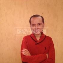 Маска «Сильвио Берлускони»