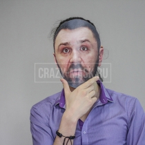 Маска «Сергей Шнуров»