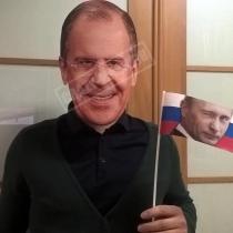 Маска «Сергей Лавров (весёлый)»