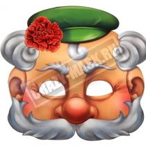 Маска «Дедуля с цветком»