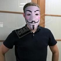 Маска «Гай Фокс (Анонимус)»