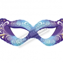 Маска «Фиолетово-голубая»