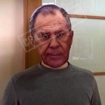 Маска «Сергей Лавров»