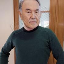 Маска «Нурсултан Назарбаев»