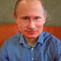 Маска «Путин (улыбается)»